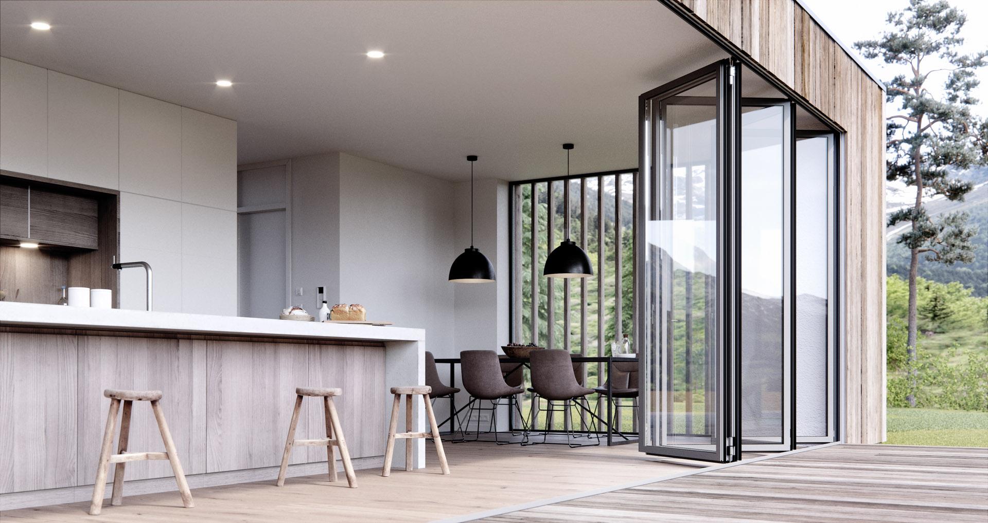 Solarlux Glas-Faltwand Highline/Ecoline