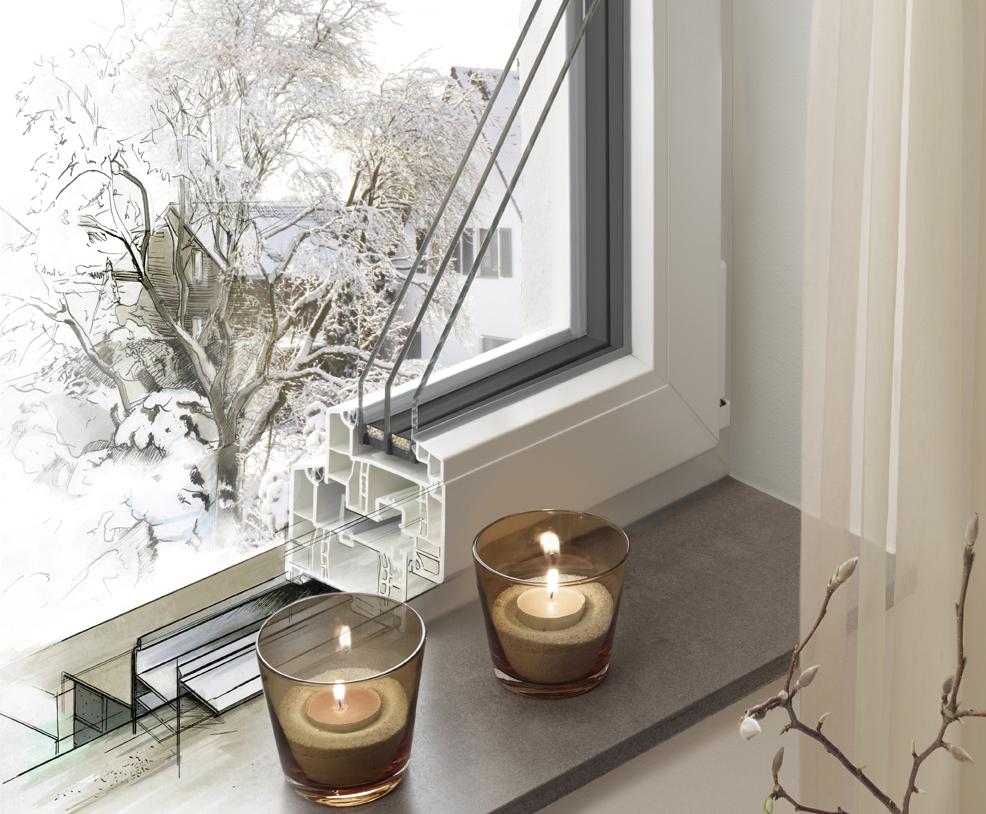 Reference Fenster von Brömse - Querschnitt