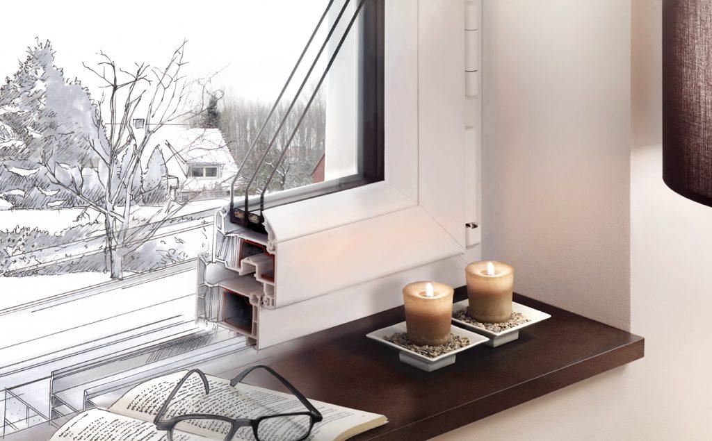Select Fenster von Brömse - Querschnitt