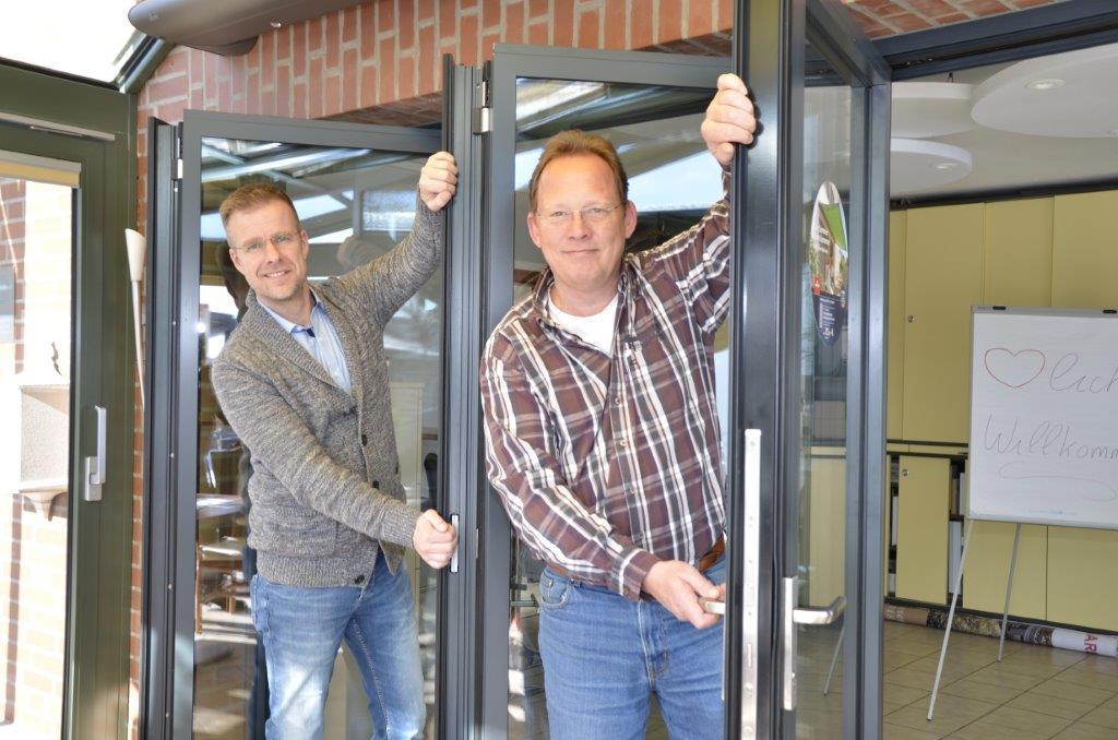 Geschäftsführer Marc Hausmann und Rainer Schlingmann